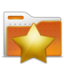 bookmarks, folder, stars icon