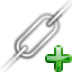 add, chain, insert, link icon
