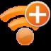 add, plus, radio, wifi icon