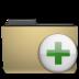add, archive, folder, manilla, to icon