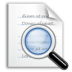 document, file, find, search, text, view icon