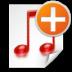 new, playlist icon