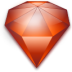 diamond, jewel, ruby icon