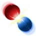 billard, collision icon