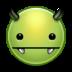 avatar, devil, evil, green, monster, vampire icon
