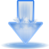 deluge, torrent icon