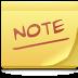 applet, notes, post-it, postit, sticky icon