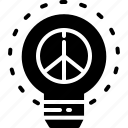 humanright, idea, lightbulb icon