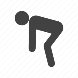fitness, runner, running, sport, sports, stretching, training icon