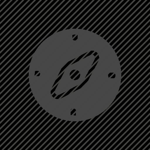 compass, hunting, location, navigation icon