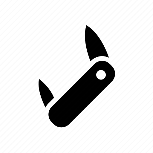 army, knife, swiss, tools icon