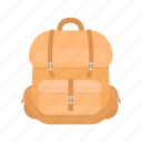 backpack, bag, equipment, haversack, rucksack, things icon
