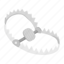 deadfall, equipment, hunting, inventory, mantrap, trap icon