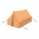 awning, camping, dwelling, hunting, shelter, tent, tourism icon