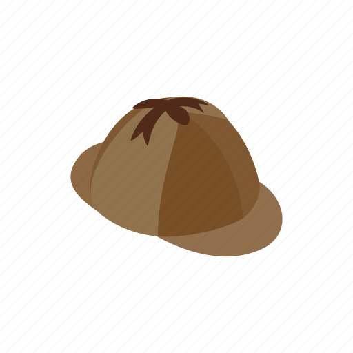 accessory, cap, clothing, hat, hunter, hunting, isometric icon