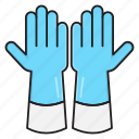 gloves, safety, protection, hygiene, hand