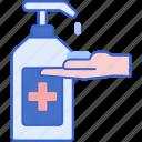 antiseptic, gel, medical, soap icon
