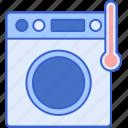 degree, high, machine, washing