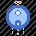 cleaner, robot, vacuum icon