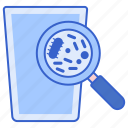 bacteria, contamination, germs, surface icon