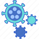 bugs, germs, hygiene, viruses icon