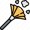 brush, clean, cleaning, dust, hygiene, washing icon