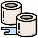 bathroom, cleaner, paper, restroom, rubbish, toilet, wc icon