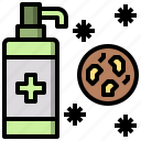 and, antiseptic, beauty, healthcare, medical, medicine, pills icon