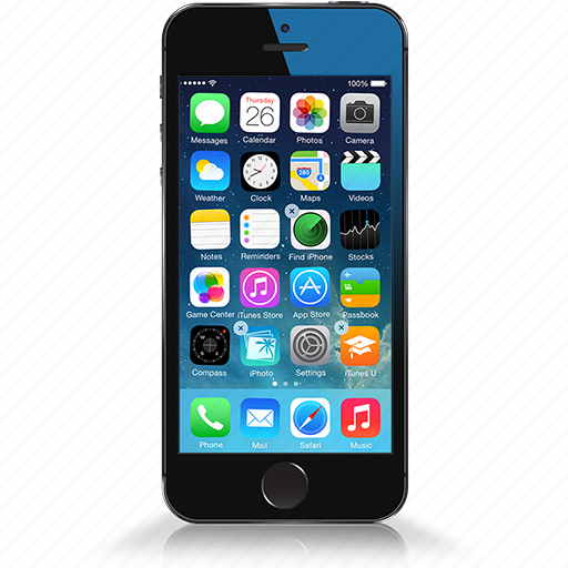 cell, iphone, mobile, phone, smartphone icon