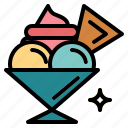 cup, dessert, ice cream icon