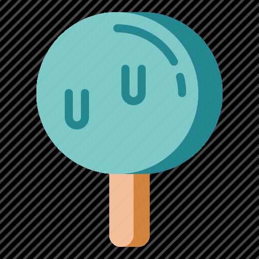 chocolate, dessert, dipped, ice cream icon