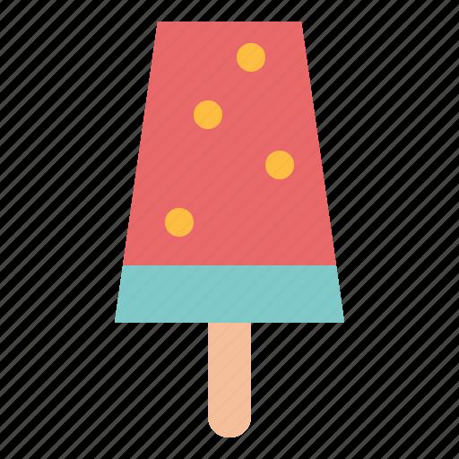 ice cream, popsicle, stick icon