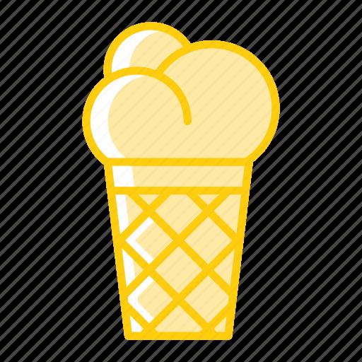 candy, cone, cone ice cream, dessert, ice cream, refreshments, sweets icon
