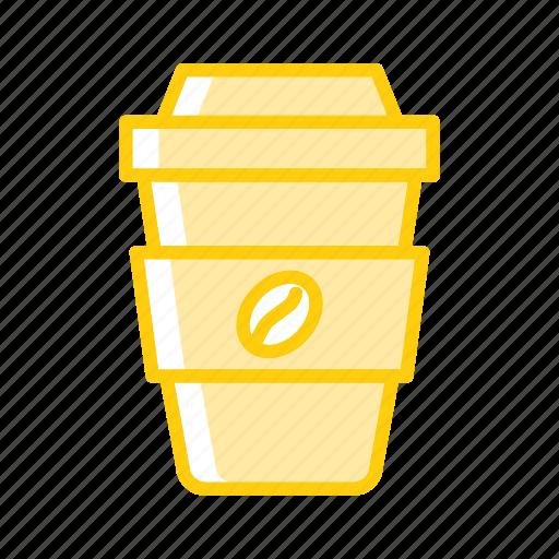 cafe, coffee, cup, starbucks, takeaway, takeaway coffee icon