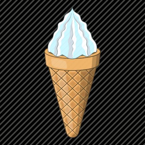 Cream, candy, design, ice, cafe, cartoon, cone icon