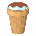 ball, bowl, cartoon, cream, delicious, design, ice icon