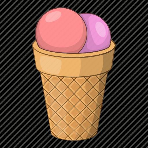 ball, cafe, candy, cartoon, cream, design, ice icon