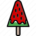 colour, ice, lollies, lolly, ultra, watermelon icon