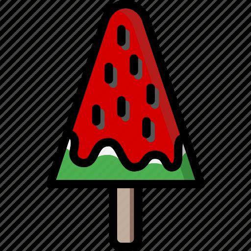 colour, ice, lollies, lolly, ultra, watermelon icon