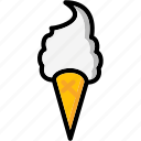 colour, cone, cream, lollies, ultra, whippy icon