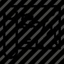 fish, map, paper, thin, vector, yul899