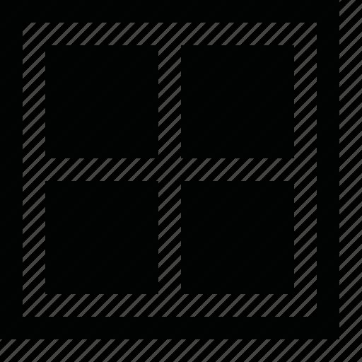 align, all, arrange, divide, dock, frame, layout, order, page, pane, panel, split, tile, up, view, window, workspace icon