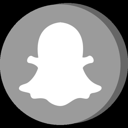 Communication, media, network, snapchat, social icon ...