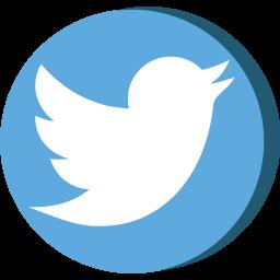 media, network, social, tweet, twitter, web icon