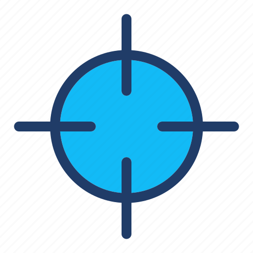 Aim, goal, sniper, target icon - Download on Iconfinder
