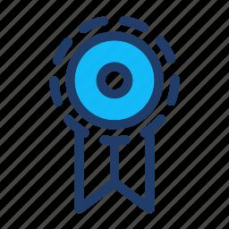 achievement, badge, best, label, prize icon