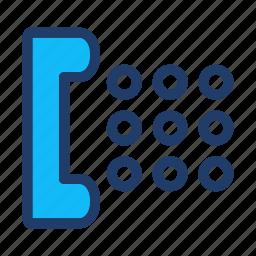 call, center, telephone icon