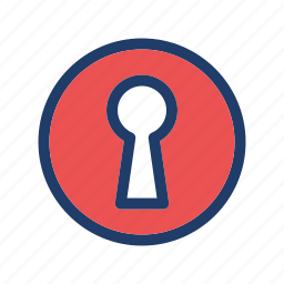 access, door, key, locked, open, safe icon