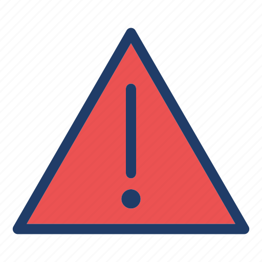 Alert, attention, danger, exclamation, warning icon - Download on Iconfinder