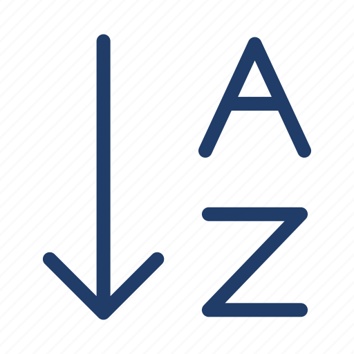 Alphabet, arrange, order icon - Download on Iconfinder